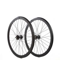 H+Son SL42/BLB Track Wheelset - Black
